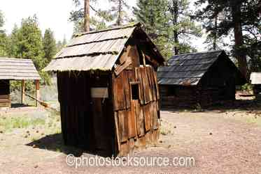 Wooden Outhouse