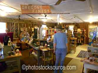 Inside Old Agness Store