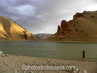 Owyhee River Gorge Sunset